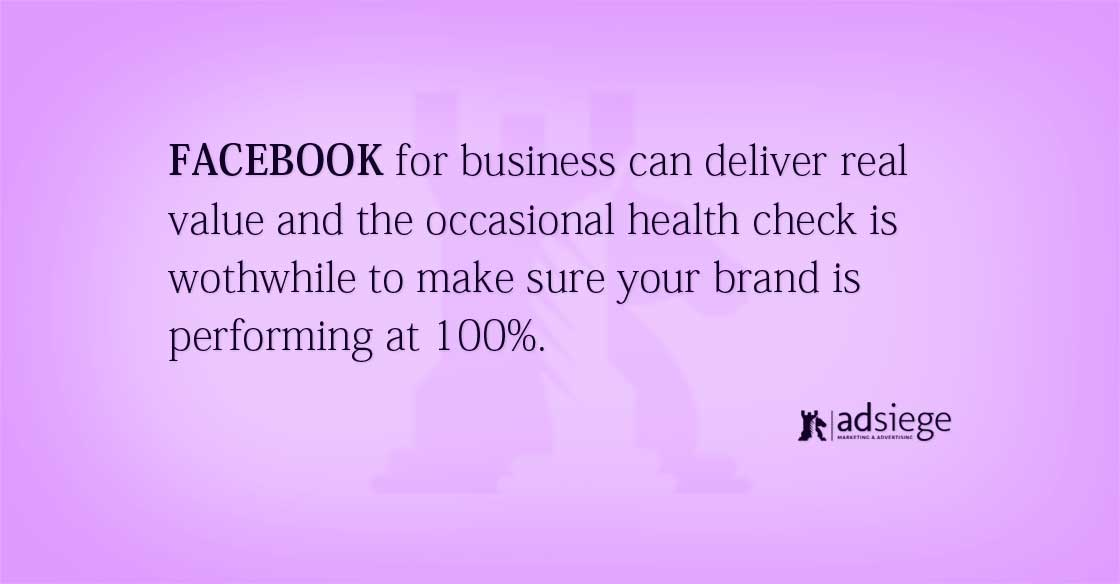 Is Your Facebook Marketing Performing At 100%?