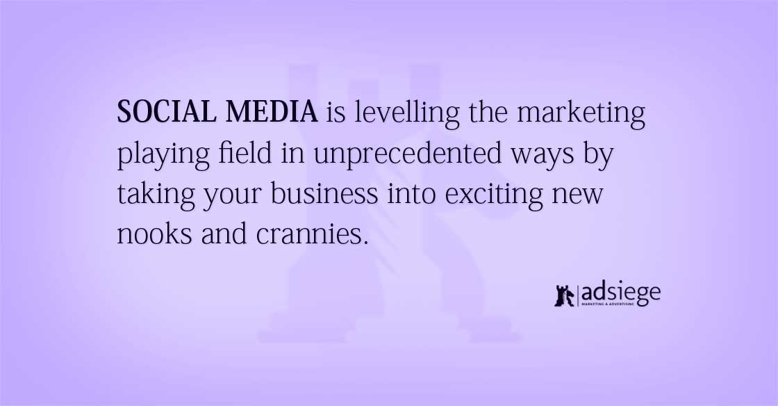 5 Great Benefits of Social Media for Small Business Marketing