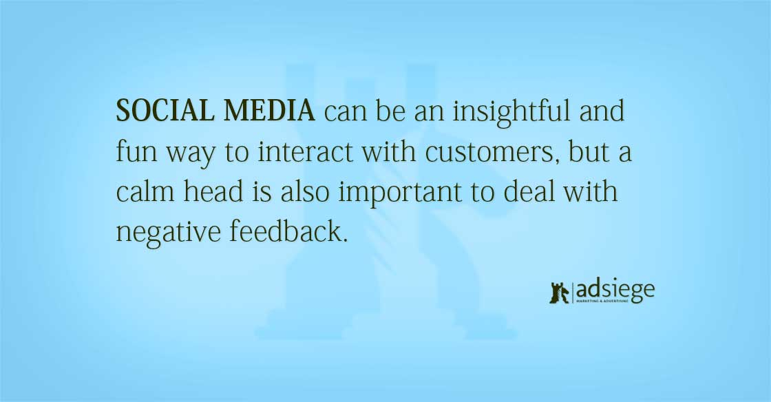 How to deal with Negative Comments in your Social Marketing