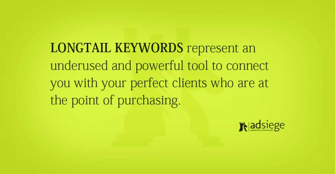 Longtail Keywords are Great for Search Engine Marketing