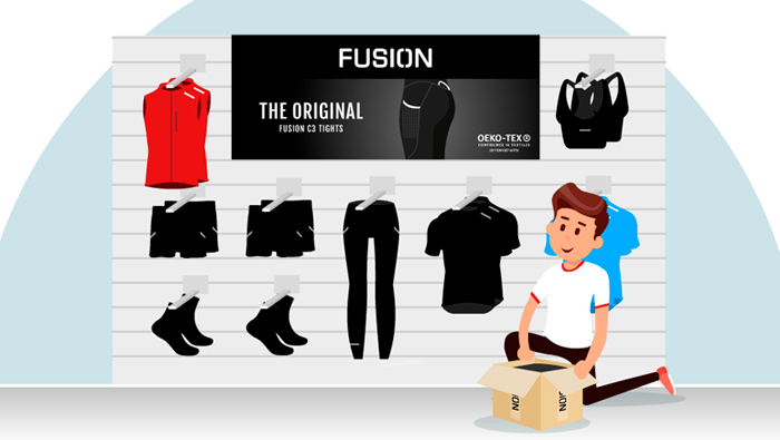 Explainer video for FUSION produkt flow