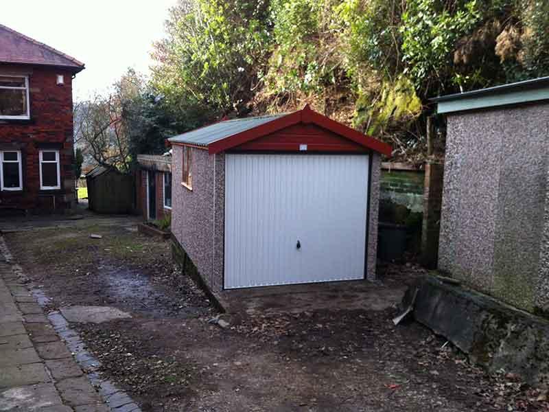 Concrete Garage Refurbishment