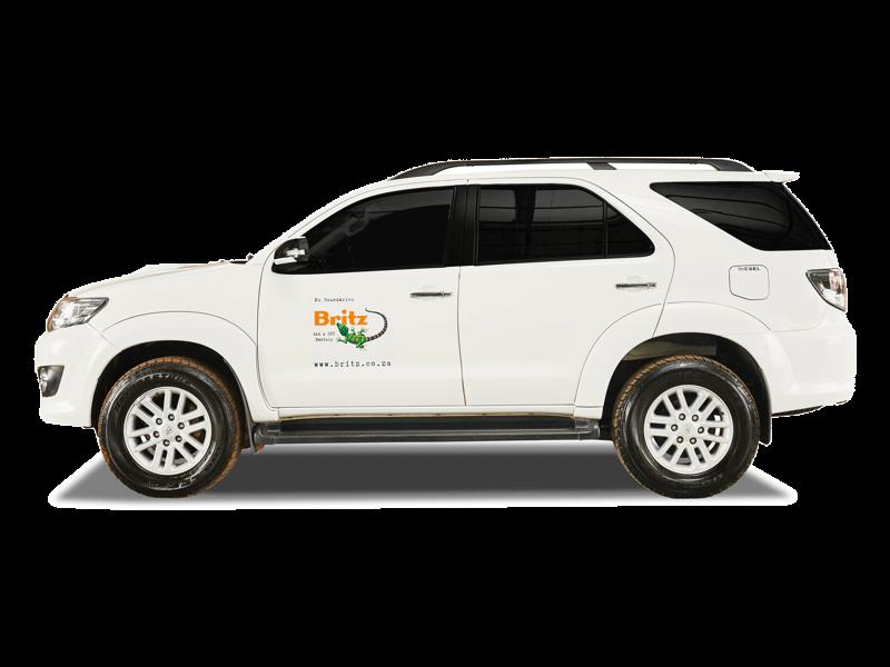 Britz Suvs For Hire Rent A Toyota Fortuner 4x4 Diesel
