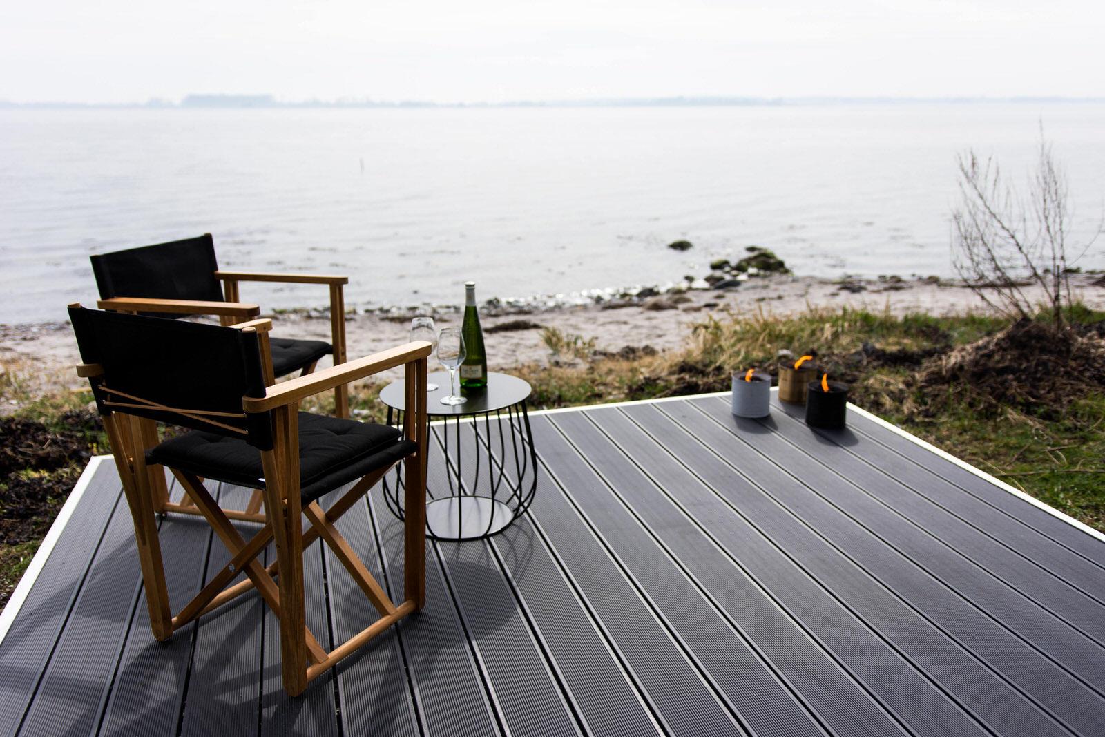 Terrasse med komposit