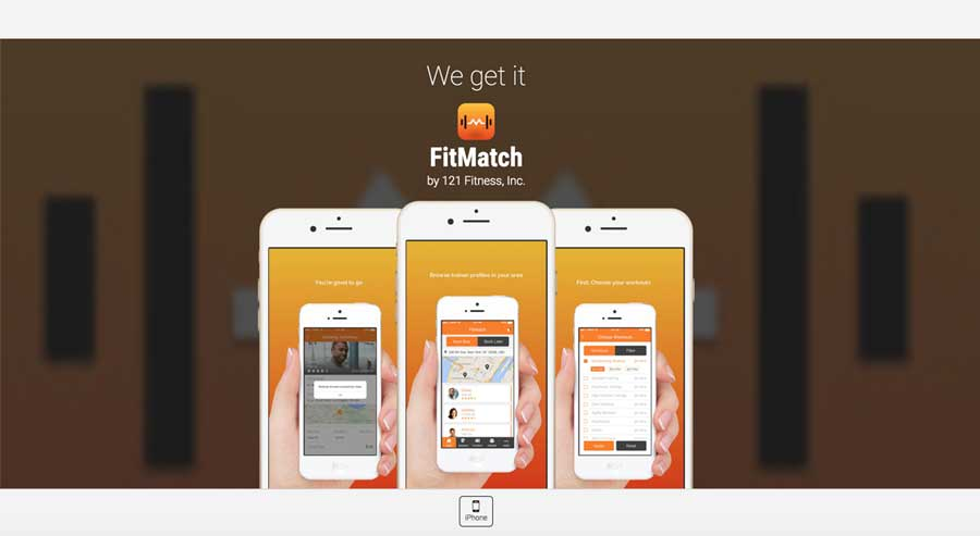 FitMatch - hero screen