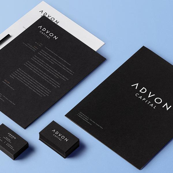 Advon Capital Logo Branding Design