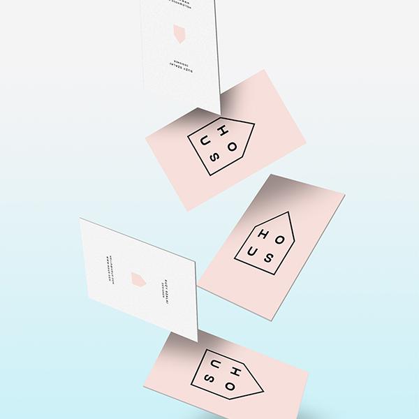 Hous Business Card Design