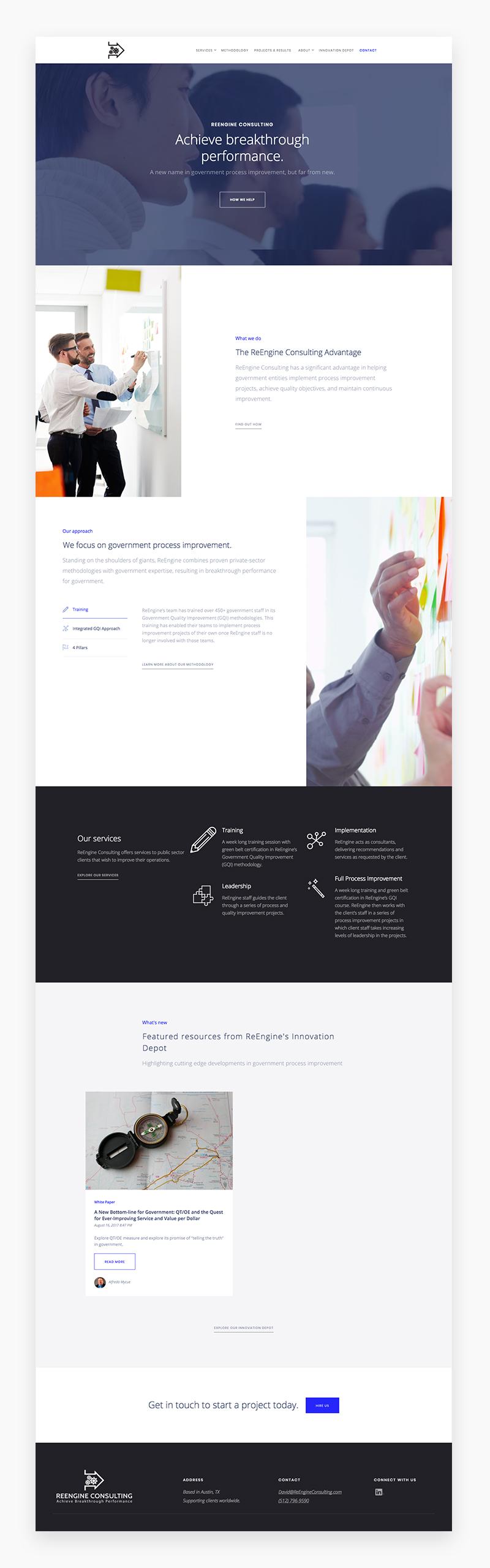 International Student Learning Website Design