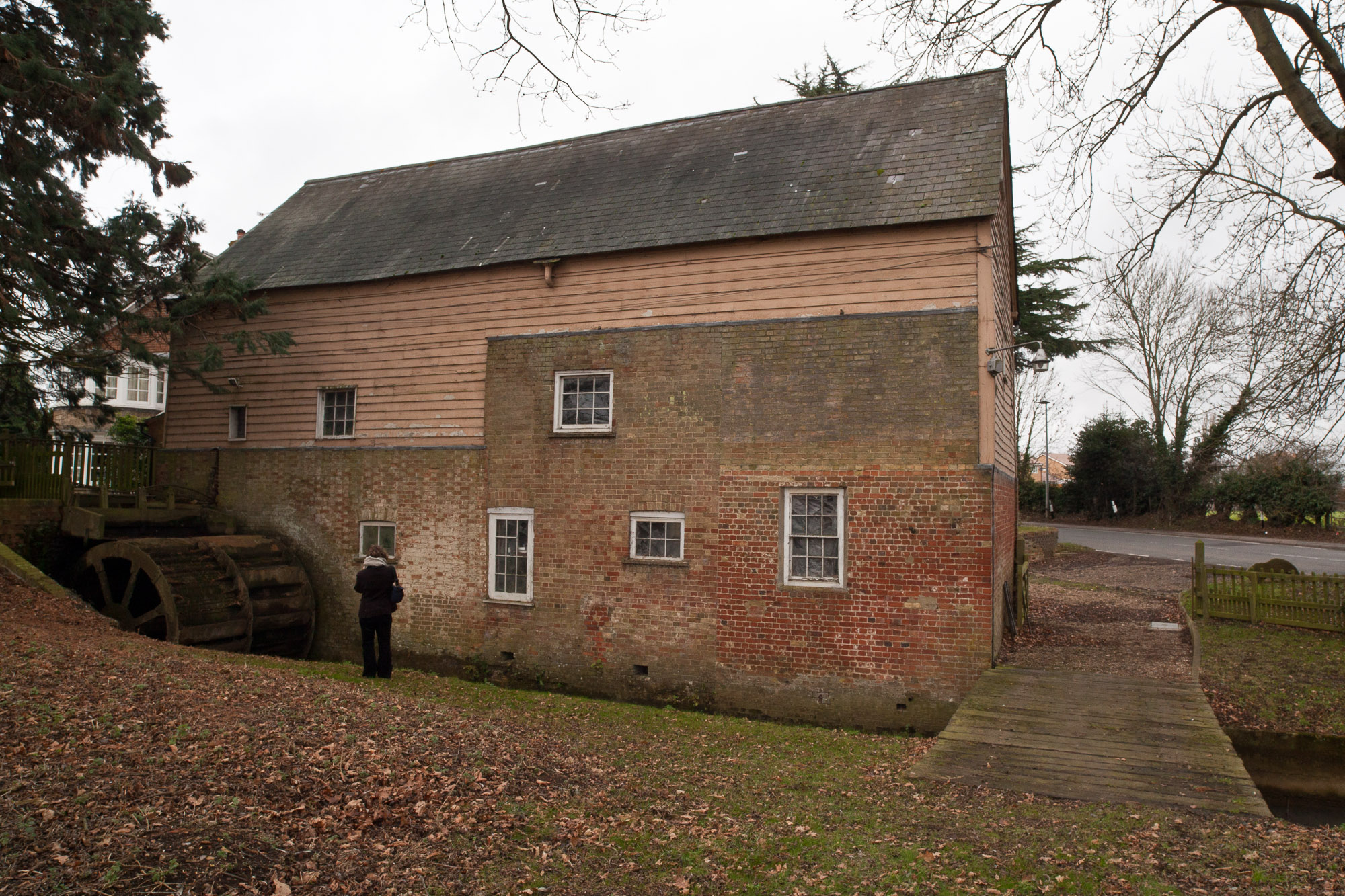 The north-west side of Flitwick Mill