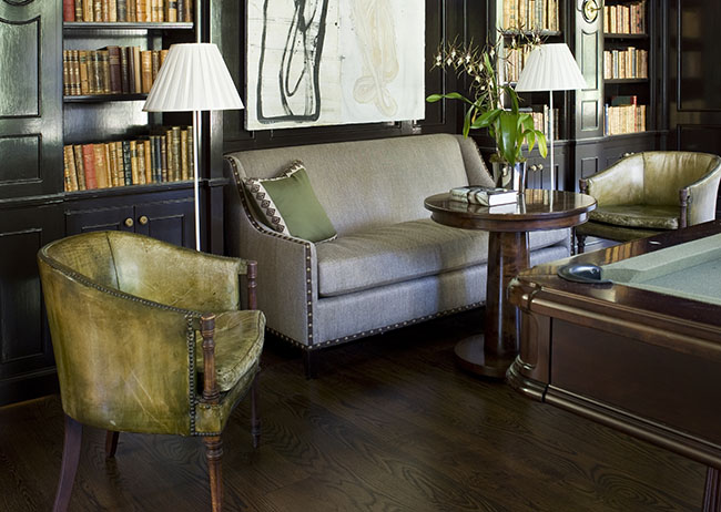 Robert Brown Interior Design | French Residence, Atlanta