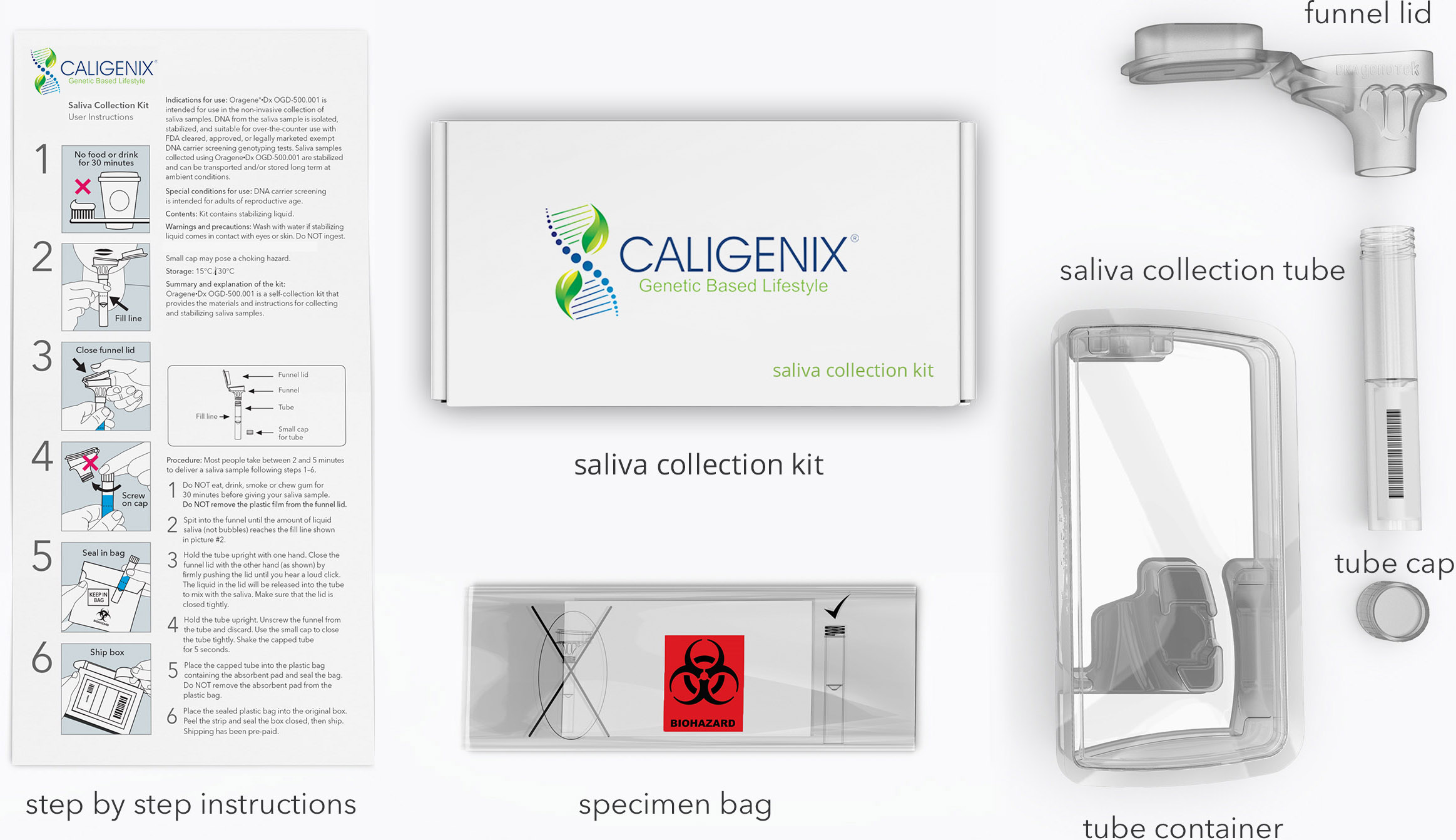 saliva collection kit