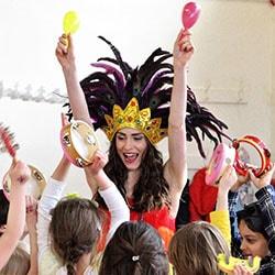 Carnival Headdress Entertainer