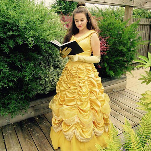 Belle Beauty and the beast Princess Party