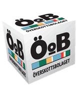 Överskottsbolaget kub med logotyp