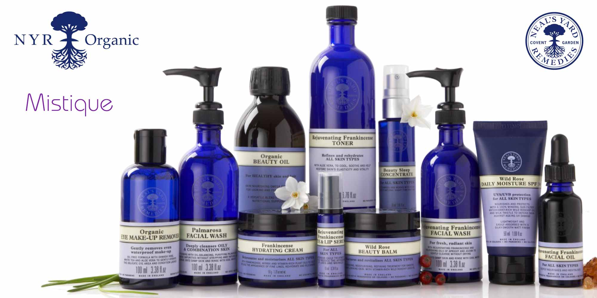 neal's yard treatments products