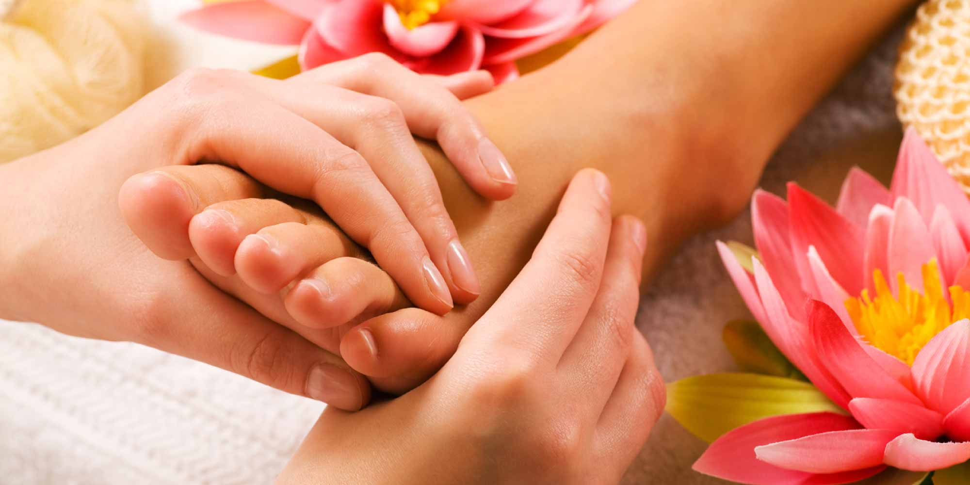 beauty treatments reflexology image