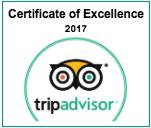 Trip Advisor Certificate 2017