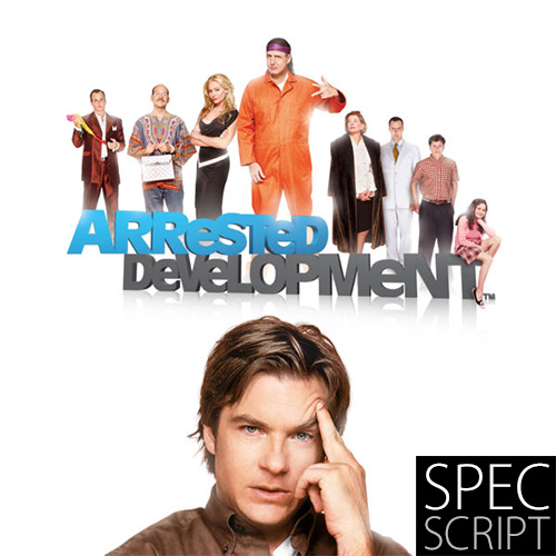 Arrested Development TV spec script by Dave Ulrich cover