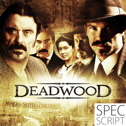 Deadwood TV spec by Dave Ulrich script cover