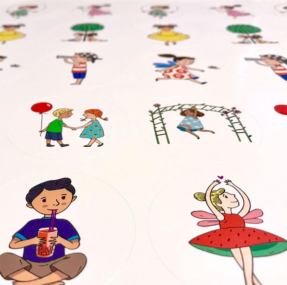 Lollie Tots stickers