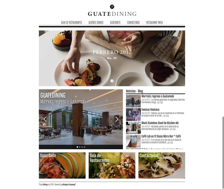 Guatedining
