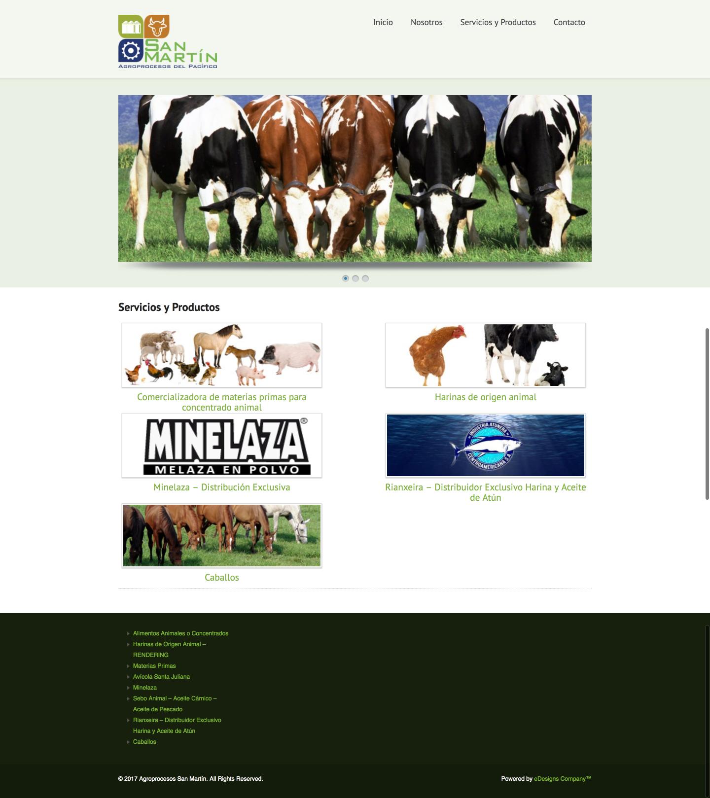 Agroprocesos San Martin