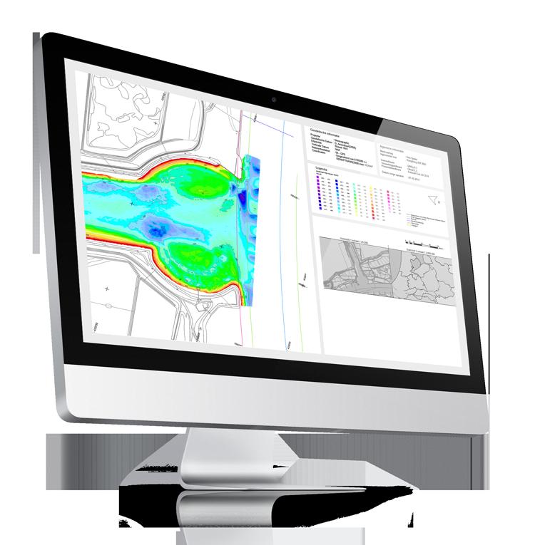 Aquatic Drone hydrographic surveys