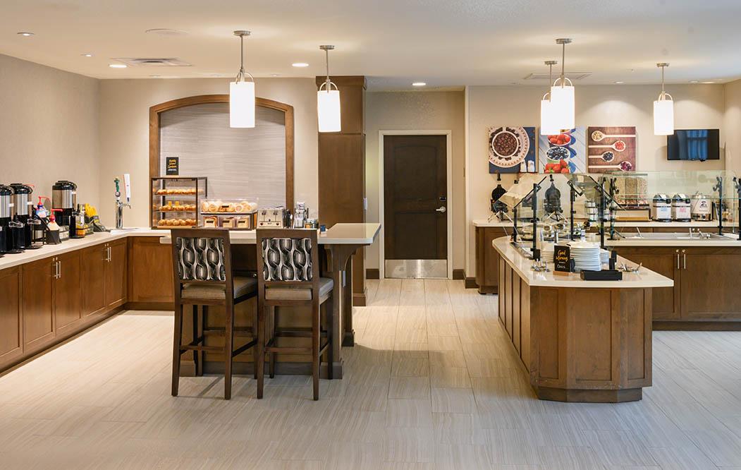 Staybridge Suites breakfast buffet
