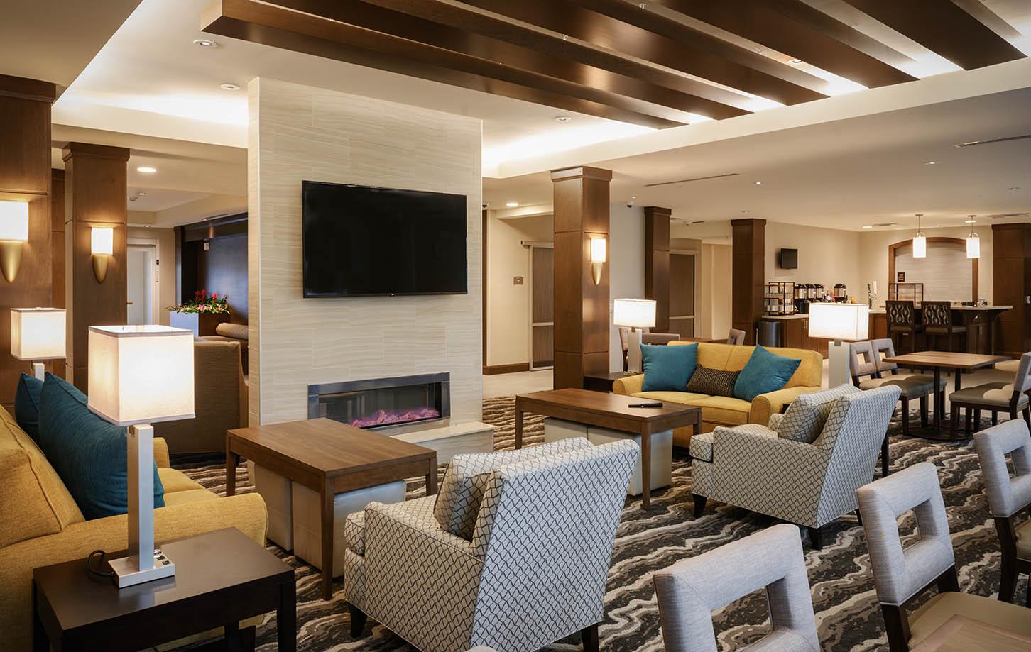 Staybridge Suites lobby
