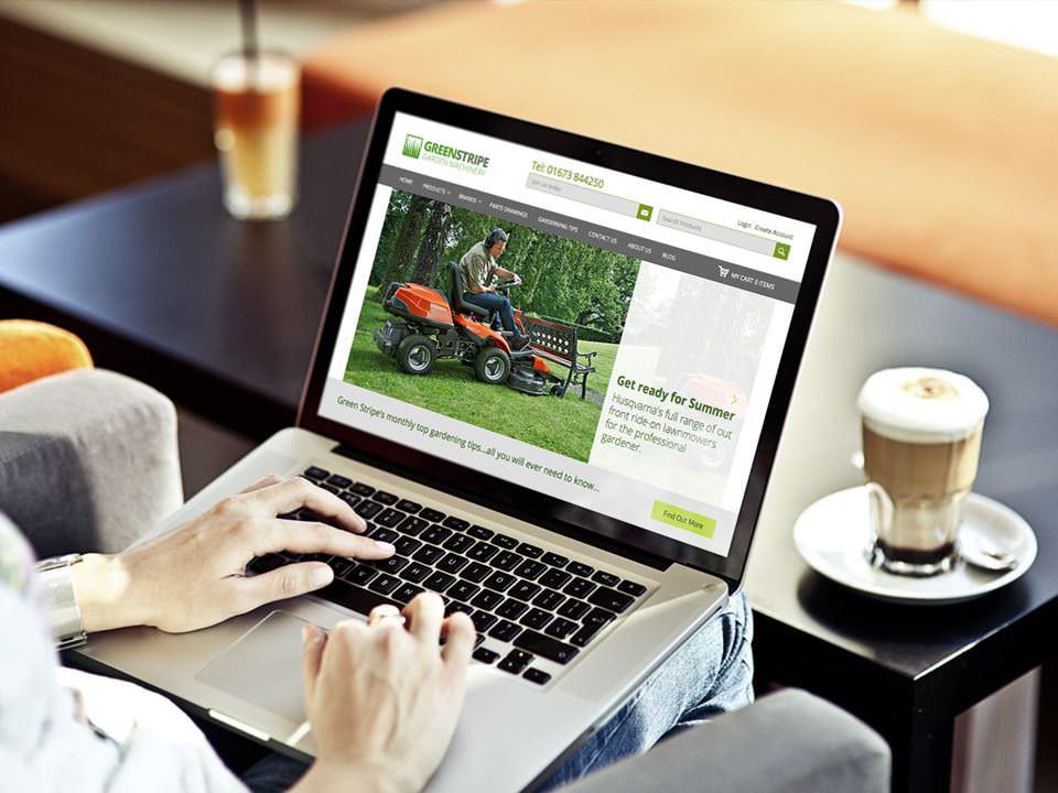Greenstripe website