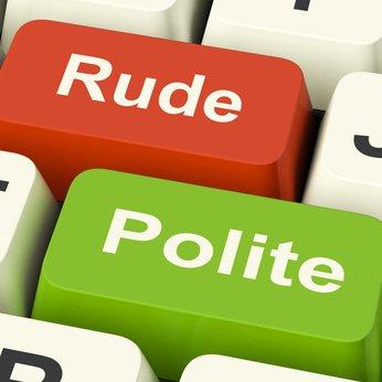 rude and polite keyboard