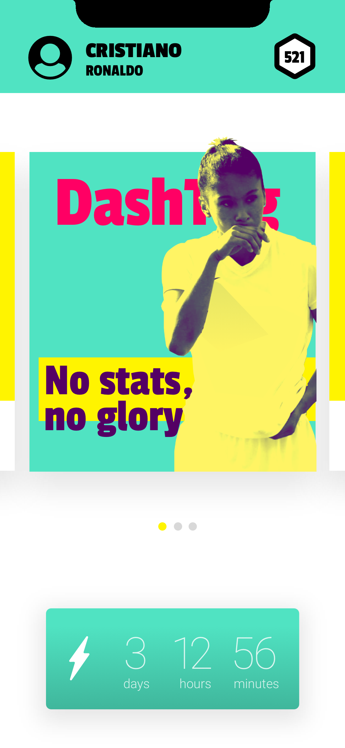 Dash App No Stats No Glory