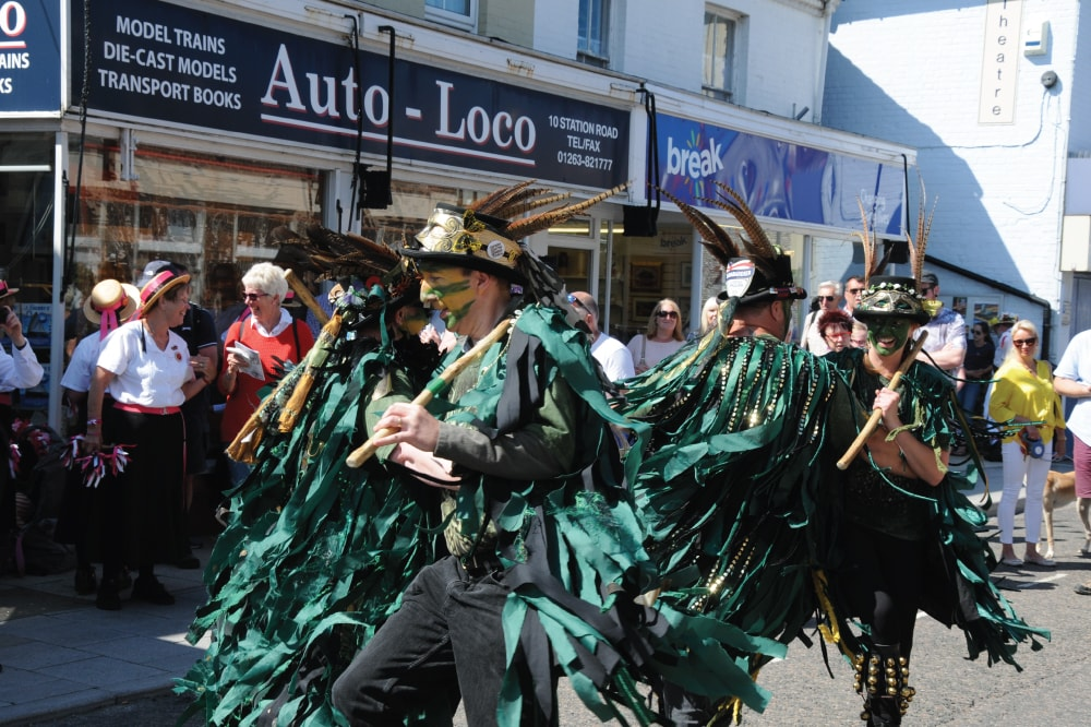Green Dragon Morris
