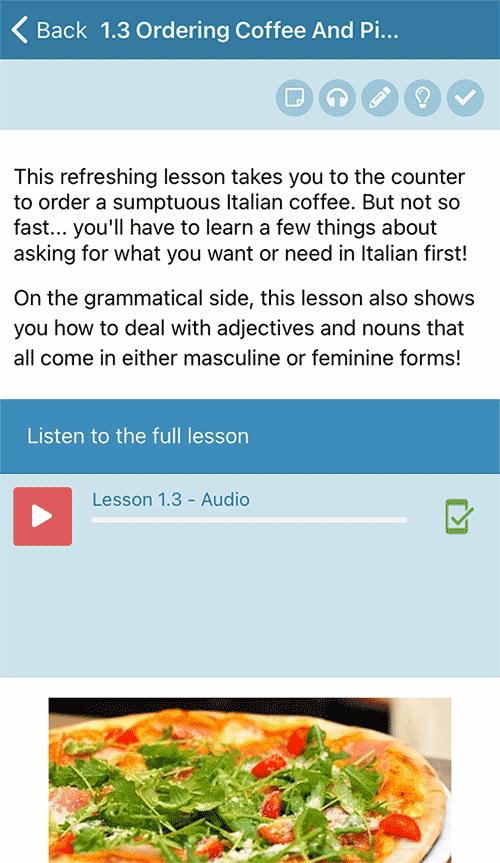 Rocket Italian app