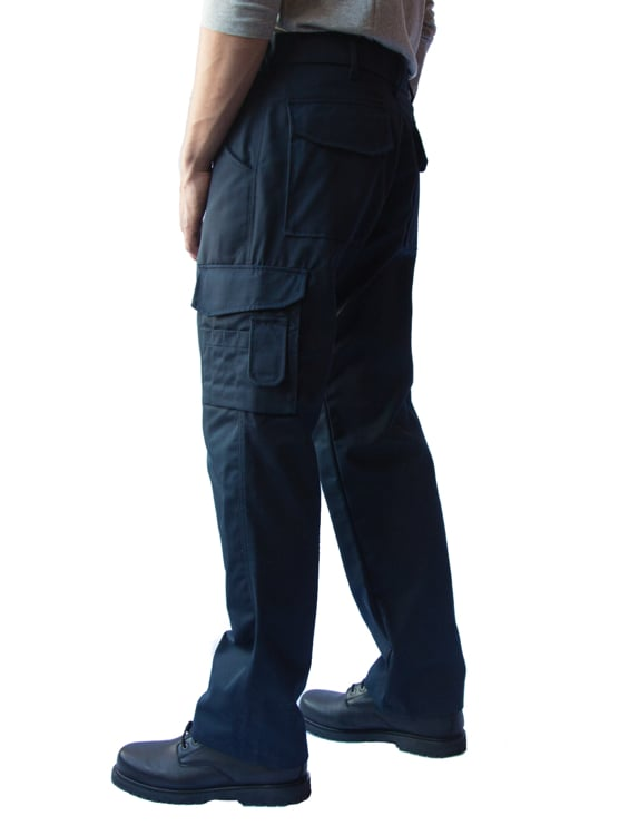 cargo work trousers work pants with built in knee pads. Black Bedroom Furniture Sets. Home Design Ideas