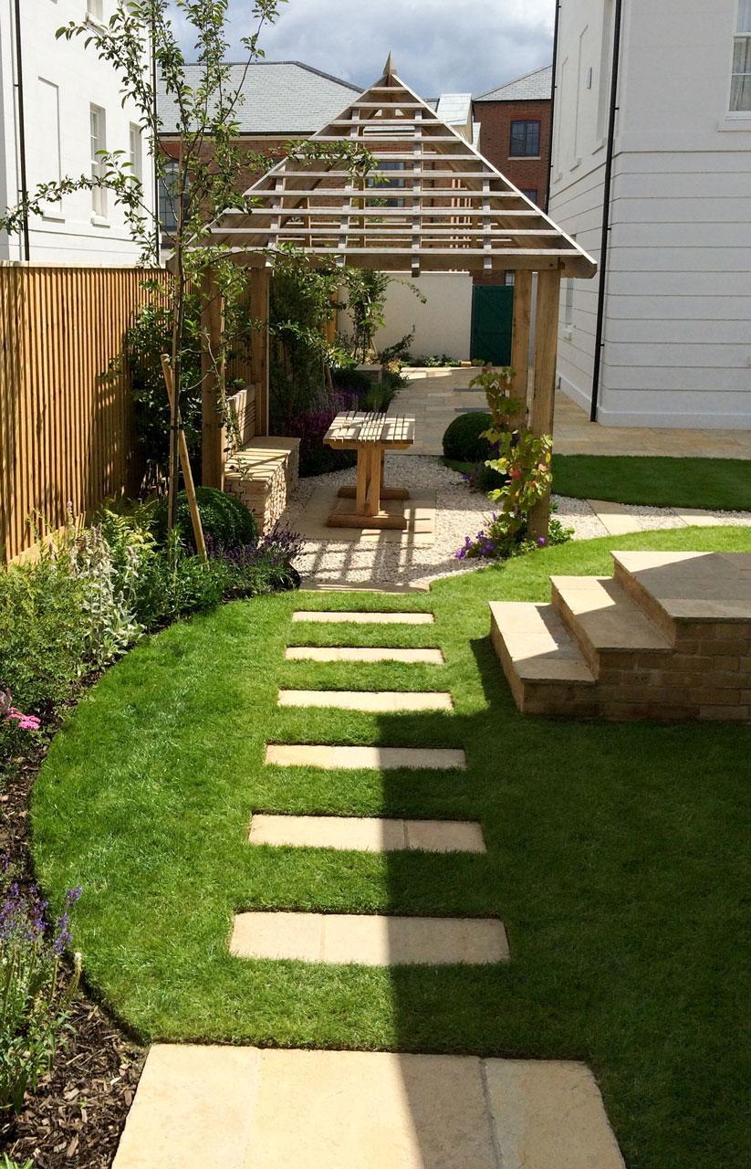 Family Garden Path