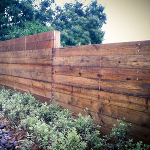 Coastal Garden Fence