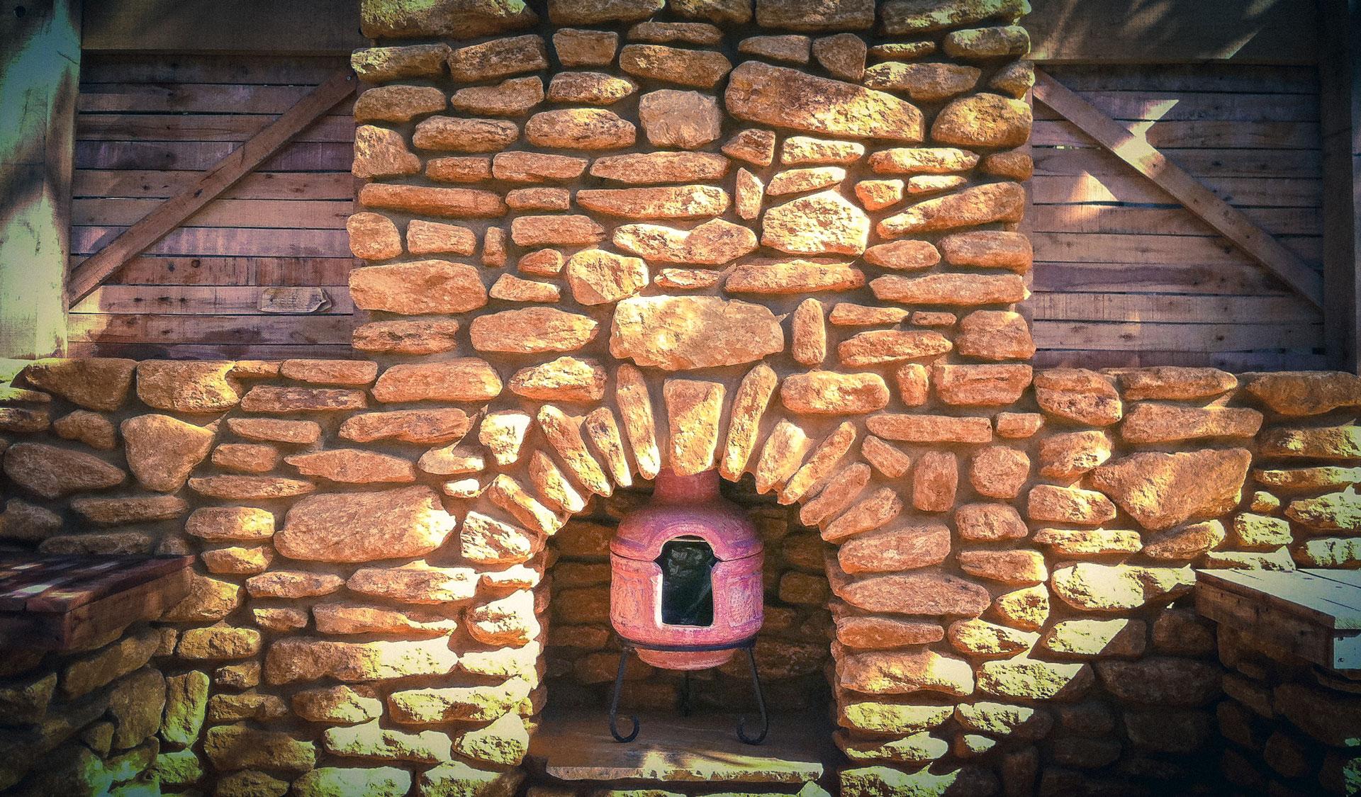 Rustic Mediterranean Stonework