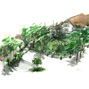 Watercolour Garden Design in Poole