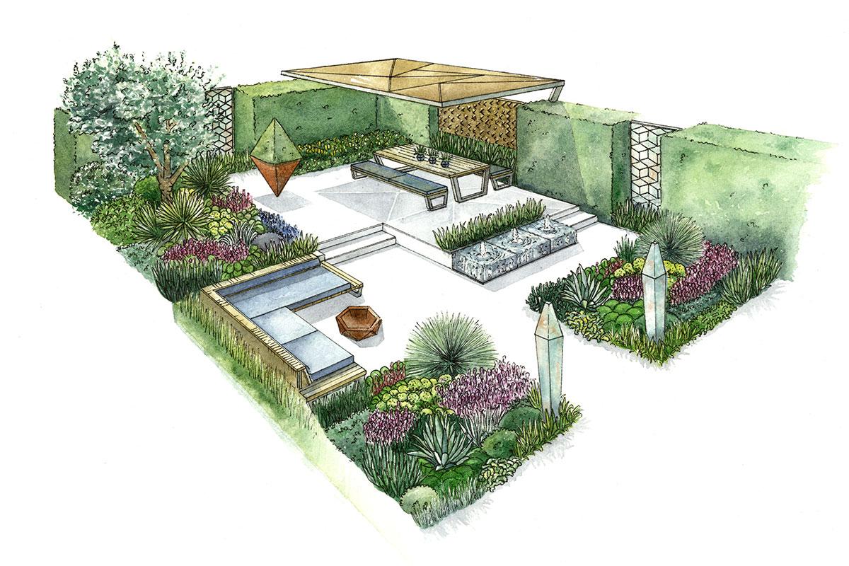 Ascot Garden Show Design Concept