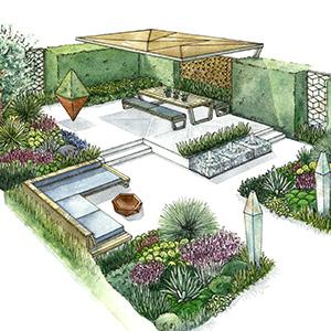 concept garden design