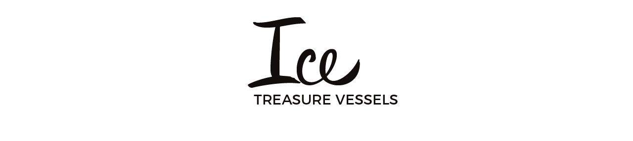 logo for pottery collection ice tresure vessels