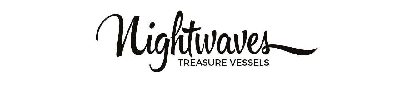 logo for nightwaves pottery