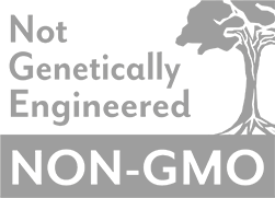 Non-GMO (Not genetically engineered) logo