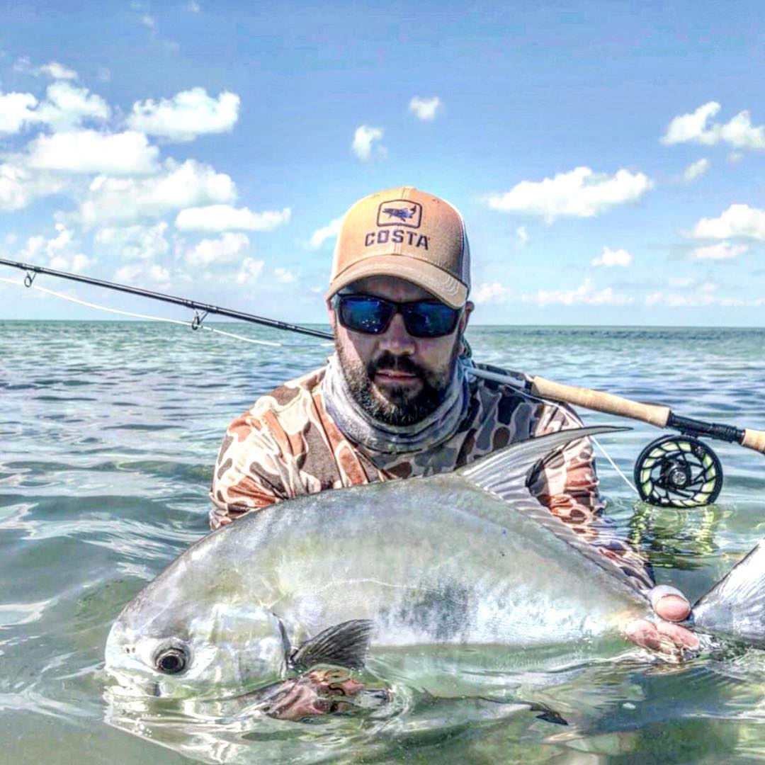 Angler: Nick G. Guide: Captain Kristian - Permit on the Fly