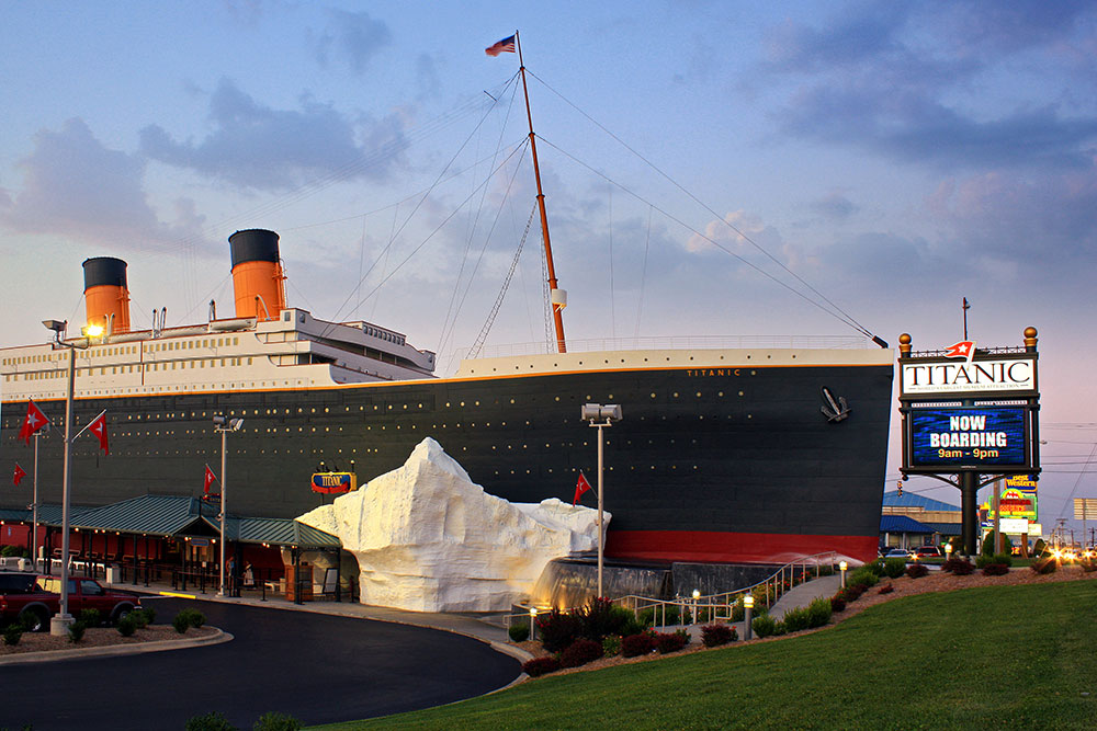 Titanic Museum Attraction in Branson