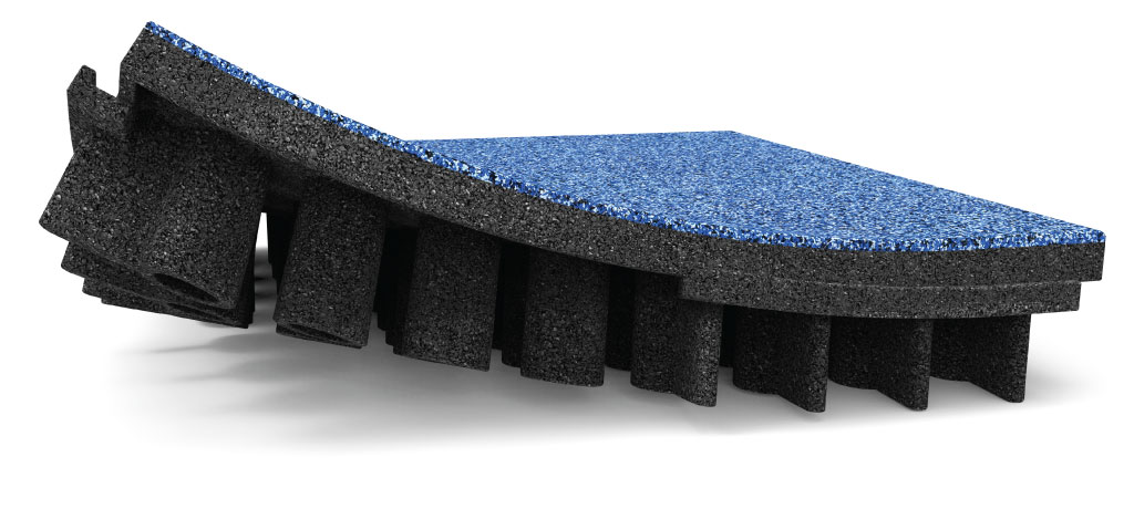 duraTrain Hybrid Series Black & Blue