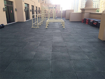 Rooftop Gym Dubai UAE Photo