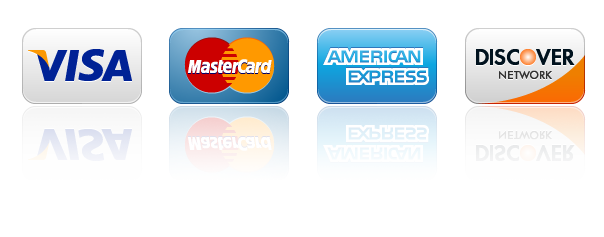 The Cleaning Company accepts all major credit cards.