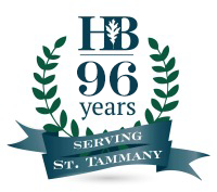 Heritage Bank 93 Years Serving St. Tammany Logo